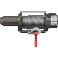Ramsey Best Value 12 Volt DC Powered Electric Truck Winch — 8500-Lb. Capacity, Galvanized Aircraft Cable, Model# 8500E