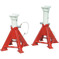 Blackhawk Automotive 7-Ton Fork Lift Jack Stands — Pair, Model# BH5070