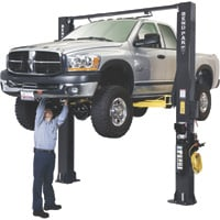 FREE SHIPPING — BendPak Super-Duty Truck Lift — 2 Post, 12,000-Lb. Capacity, Model# XPR-12CL