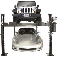 FREE SHIPPING — Dannmar 4-Post Truck and Car Lift — 7000-Lb. Capacity, Model# Commander 7000X