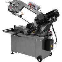 JET Horizontal Metal Cutting Band Saw with Hydraulic Feed — 8in. x 14in., 1 HP, 110/220V, Model# HBS-812GH