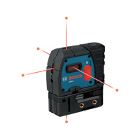 Bosch 5-Point Self-Leveling Alignment Laser, Model# GPL5