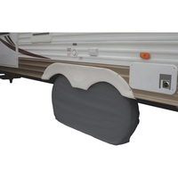 Classic Accessories Dual Axle Wheel Cover — Fits Dual Tires up to 27in., Model# 80-107-021001-00