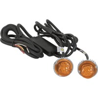 Buyers Products Hidden LED Strobe Light — 2-Pc. Set, Amber Light with 15ft. Cord