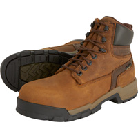 Wolverine Men's Gear ICS 6in. Waterproof Safety Toe Work Boots — Brown, Model# W10148
