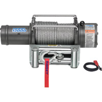 Ramsey Patriot Profile 12 Volt DC Powered Electric Truck Winch — 12,000-Lb. Capacity, Wire Cable, Model# 109194