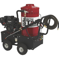 FREE SHIPPING — NorthStar Gas Wet Steam & Hot Water Pressure Washer — 2,700 PSI, 2.5 GPM