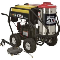 FREE SHIPPING — NorthStar Gas Wet Steam & Hot Water Pressure Washer — 3,000 PSI, 4.0 GPM, Honda Engine