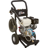 FREE SHIPPING — NorthStar Gas Cold Water Pressure Washer — 3300 PSI, 3.0 GPM, Honda Engine, Model# 15781820