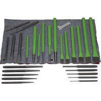 Grip Tools Metal Punches and Chisels — 28-Pc. Set