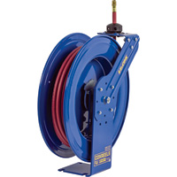 Coxreels Heavy-Duty Safety Air/Water Hose Reel — With 3/4in. x 25ft. PVC  Hose, Max. 300 PSI, Model# EZ-SH-525