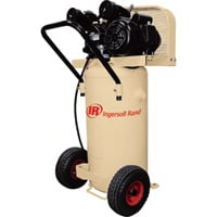 FREE SHIPPING — Ingersoll Rand Garage Mate Portable Electric Air Compressor — 2 HP, 20-Gallon Vertical, 5.5 CFM, Model# P1.5IU-A9