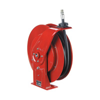 Reelcraft Spring-Powered Hose Reel — With 1/2in. x 50ft. Rubber Hose, Max. 2,250 PSI, Model #7850 OMP
