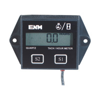 Digital Hour Meter and Tachometer