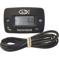 GDI Surface-Mount Hour Meter with Tachometer, Model# N111-0100-1005