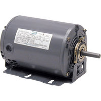 Leeson Fan and Blower Electric Motor — 1/2 HP, 1725 RPM, 115 Volts, Split Phase, Model# 102891