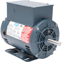 Leeson Air Compressor Electric Motor — 2 HP, Model# 116512