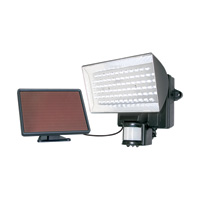 Maxsa Solar LED Floodlight with Motion Sensor — 80 LEDs, Model# 40226