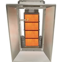 SunStar Heating Products Infrared Ceramic Heater — NG, 40,000 BTU, Model# SG4-N