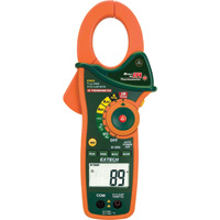 Extech Instruments 1000 Amp Clamp Meter with IR Thermometer — True RMS, Model# EX830