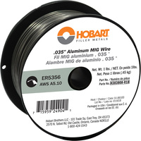 Hobart MIG Welding Wire — ER5356 Aluminum, .035in., 1-Lb. Spool, Model# H383808-R18