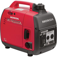 FREE SHIPPING — Honda EU2000i Companion Portable Inverter Generator — 2000 Surge Watts, 1600 Rated Watts, CARB-Compliant, Model# EU2000IT1A3