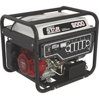 NorthStar Portable Generator — 8000 Surge Watts, 6600 Rated Watts, Electric Start, EPA and CARB-Compliant