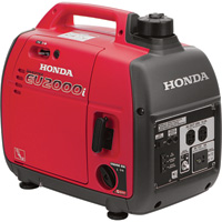 FREE SHIPPING — Honda EU2000 Portable Inverter Generator — 2000 Surge Watts, 1600 Rated Watts, CARB-Compliant, Model# EU2000i