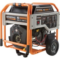 FREE SHIPPING — Generac XG10000E Portable Generator — 12,500 Surge Watts, 10,000 Rated Watts, Model# 5802