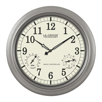 LaCrosse Technology Atomic Wall Clock — 18in., Analog, Model# WT-3181PL