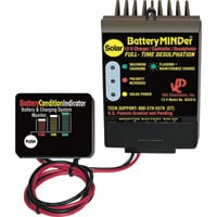 BatteryMINDer Solar Battery Charger/Maintainer/Desulfator — 12 Volt, 180 Watt, Model# SCC180