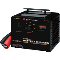 Schumacher Multiple Battery Charger — 12/24/36/48/60/72 Volt, 5/10 Amp, Manual, Model# SE-1072