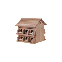 Heath Manufacturing Redwood Purple Martin House — 12 Room