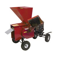 Merry Mac Tow-Behind Chipper/Shredder — 249cc Briggs & Stratton Powerbuilt OHV Engine, 3 1/2in. Capacity, Model# 12PT1100M