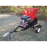 Merry Mac Highway-Towable Chipper/Shredder — 18 HP Briggs & Stratton Vanguard Engine, 4 1/2in. Capacity, Model# SC183-18VEM