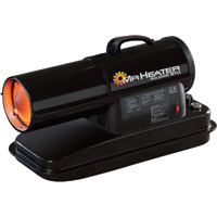 Mr. Heater Portable Kerosene Heater — 50,000 BTU, 1200 Sq. Ft. Heating Capacity, Model# MH50KR