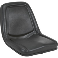 Michigan Seat Extra Highback Seat — Black, Model# V-818