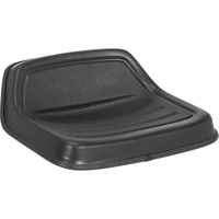 Michigan Seat Lowback Lawn/Garden Tractor Seat — Black, Model# V-250