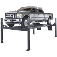 FREE SHIPPING — BendPak 4-Post Extended Length Truck and Car Lift — 14,000-Lb. Capacity, Model# HDS-14X