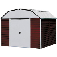Arrow Red Barn Shed — 10ft. x 8ft.