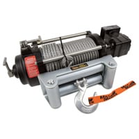 Mile Marker HI-Series 12 Volt DC Powered Hydraulic Truck Winch — 9000-lb. Capacity, Galvanized Aircraft Cable, Model# HI9000