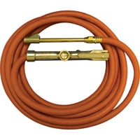 Milton Truck Tire Inflator Gauge with 15-Ft. Hose — Osha Compliant, Model# 98-A1-501