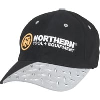 NORTHERN TOOL + EQUIPMENT Cap with Diamond Plate Design — One Size Fits Most