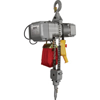 Roughneck Round Chain Electric Hoist — 1-Ton Load Capacity, 9.8ft. Lift