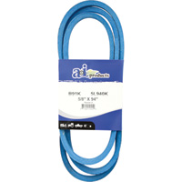 A & I Products Blue Kevlar V-Belt with Kevlar Cord — 94in.L x 5/8in.W, Model# B91K/5L940K