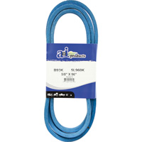 A & I Products Blue Kevlar V-Belt with Kevlar Cord — 96in.L x 5/8in.W, Model# B93K/5L960K