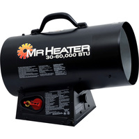 Mr. Heater Forced Air Propane Heater — 60,000 BTU, Model# MH60FAV