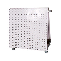 Triton Products Mobile Tool Cart with LocBoard Pegboard, Model# LBC-18H
