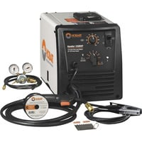 FREE SHIPPING — Hobart Handler 210MVP Flux-Core/MIG Welder with Multi-Voltage Plug — 115V/230V, 140/210 Amp, Model# 500553