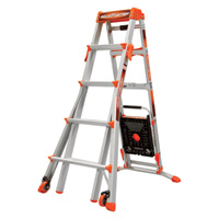 Little Giant Type 1A Select Step Adaptive Telescoping Stepladder —  6ft.–10ft., Model# M6-10